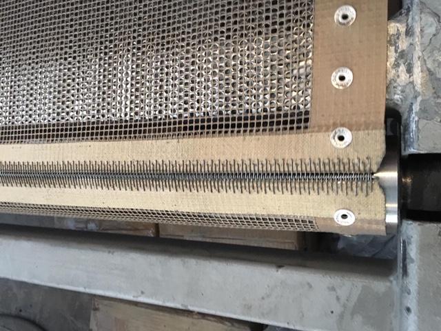 fabricacion de bandas trasnportadoras pasteleria